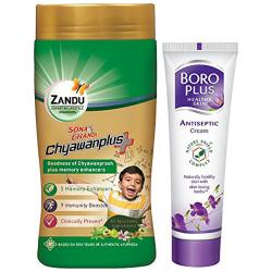 Zandu Sona Chandi Chyawanplus with Boro Plus Free