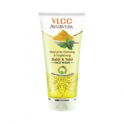 VLCC Ayurveda Deep Pore Cleansing & Brightening Haldi & Tulsi Face Wash