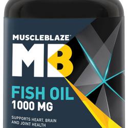 MuscleBlaze Fish Oil 1000mg Soft Gelatin Capsule