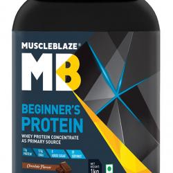 MuscleBlaze Beginner's Whey Protein Supplement Chocolate