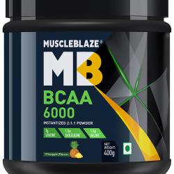 MuscleBlaze BCAA 6000 Powder Pineapple