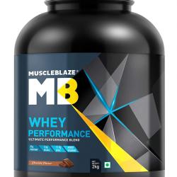 MuscleBlaze Chocolate Whey Performance Blend