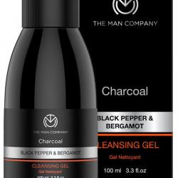 The Man Company Black Pepper & Bergamot Charcoal Cleansing Gel
