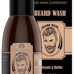 The Man Company Argan & Geranium Beard Wash
