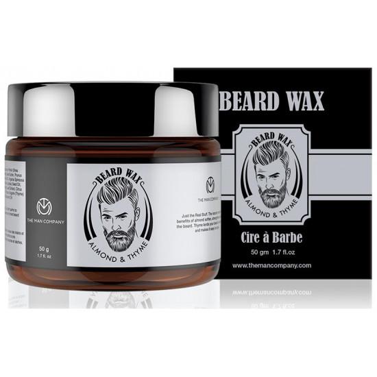 The Man Company Almond & Thyme Beard Wax