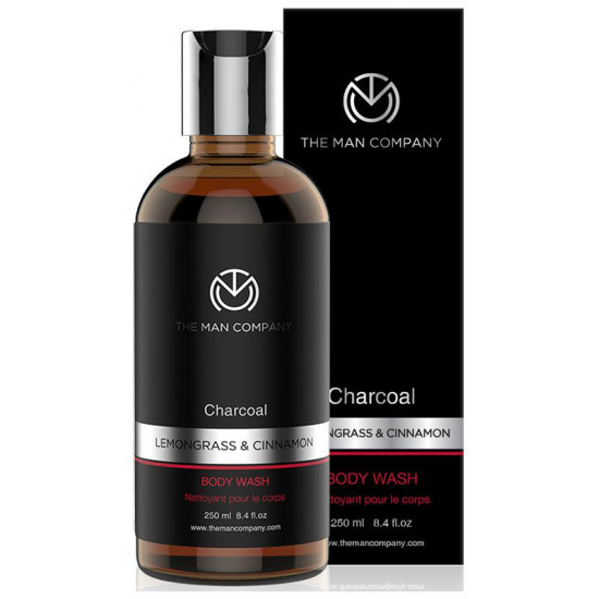 The Man Company Charcoal Lemongrass & Cinnamon Body Wash