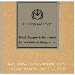 The Man Company Black Pepper & Bergamot Soap
