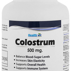 HealthVit Colostrum 500mg Capsule