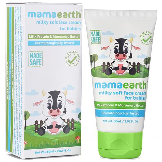 Mamaearth Milky Soft Baby Face Cream