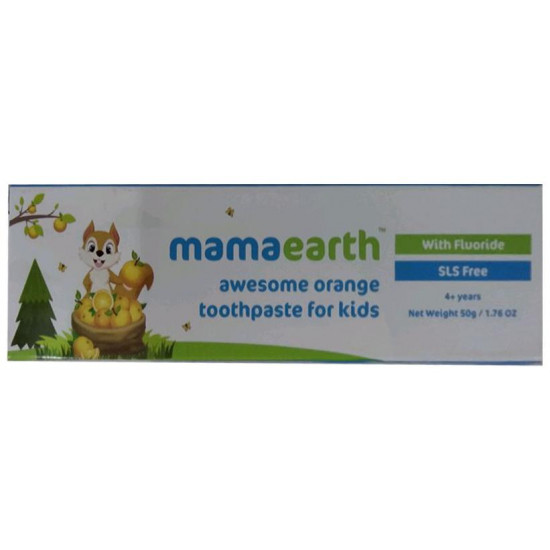 Mamaearth Toothpaste for Kids Awesome Orange 4+ years