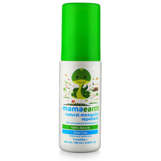 Mamaearth Natural Mosquito Repellent (3 Months Plus)