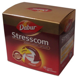 Dabur Stresscom Ashwagandha Capsule